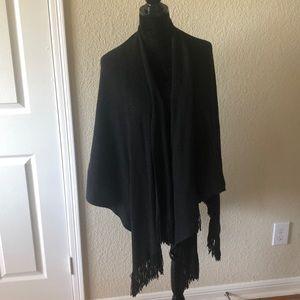 Black glittery shawl